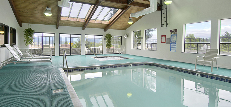 Pool at the Super 8 Grants Pass in Grants Pass, Oregon